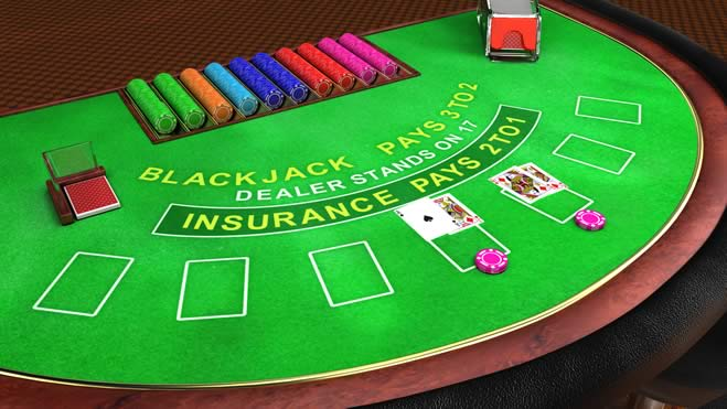 Como Jogar Blackjack numa Mesa do Blackjack