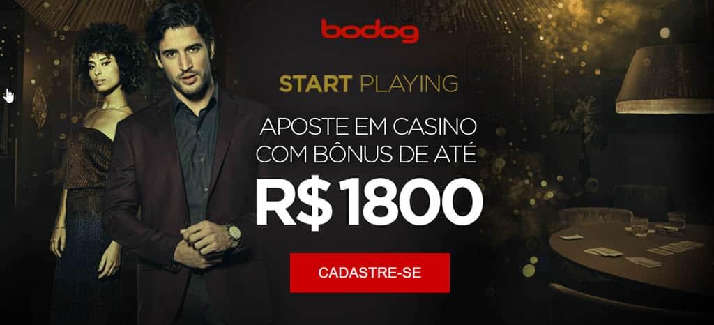 Bônus Cassino Bodog Brasil