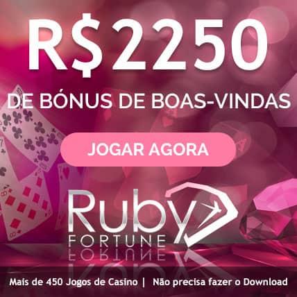 Ruby Fortune Cassino Brasil Bônus