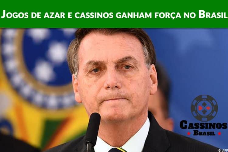 Jogos de azar e cassinos ganham força no Brasil